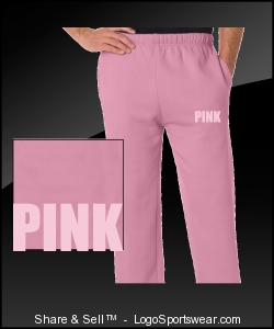I LOVE PINK PANT Design Zoom