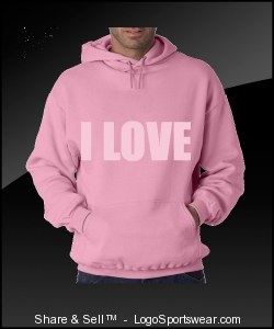 I LOVE PINK SWEAT Design Zoom